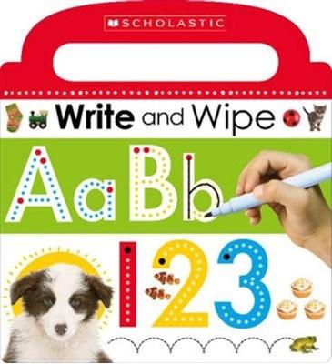 Write and Wipe ABC 123 Scholastic 9780545915359