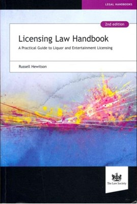 Licensing Law Handbook Russell Hewitson 9781907698170