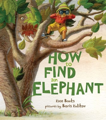 How to Find an Elephant Kate Banks 9780374335083