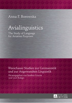 Avialinguistics Anna P. Borowska 9783631721384