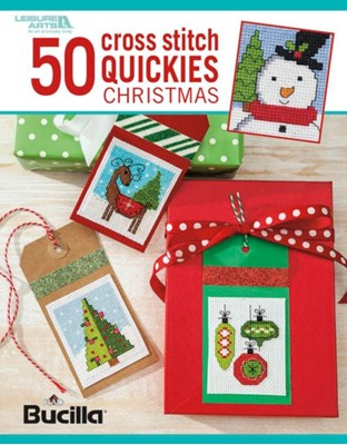 50 Cross Stitch Quickies Christmas  9781464756634