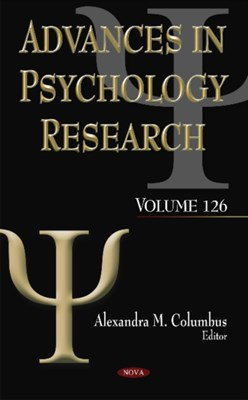 Advances in Psychology Research  9781536108347