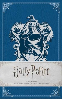 Harry Potter: Ravenclaw Ruled Pocket Journal Insight Editions 9781683830344