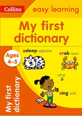 My First Dictionary Ages 4-5 Collins Easy Learning 9780008209483