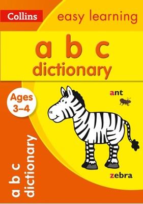 ABC Dictionary Ages 3-4 Collins Easy Learning, Collins Dictionaries 9780008209469