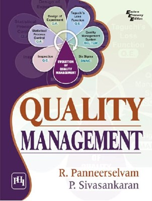 Quality Management R. Panneerselvam 9788120349438