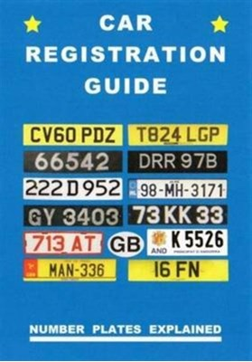 CAR REGISTRATION GUIDE Peter Robson 9781872686387