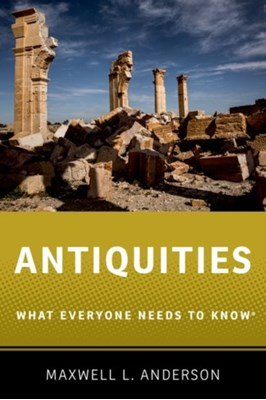 Antiquities Maxwell L. (Research Affiliate Anderson 9780190614935