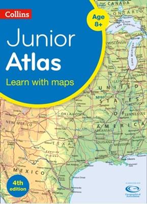 Collins Junior Atlas Collins Maps 9780008203092