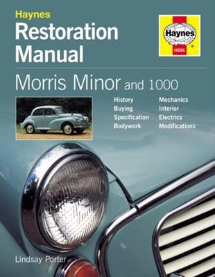 Morris Minor and 1000 Restoration Manual Lindsay Porter 9781859606964