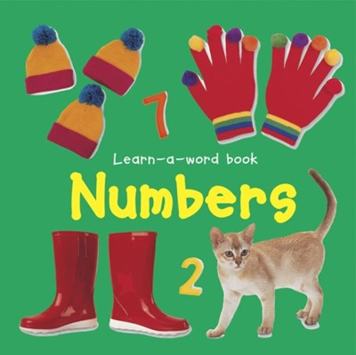 Learn-a-word Book: Numbers Nicola Tuxworth 9781843227502