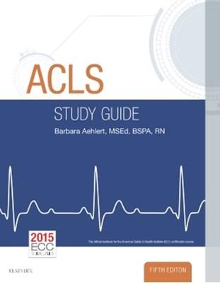 ACLS Study Guide Barbara Aehlert 9780323401142