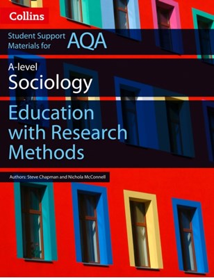 AQA AS and A Level Sociology Education with Research Methods Martin Holborn, Nichola McConnell 9780008221638