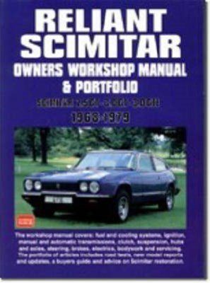 Reliant Scimitar Owners Workshop Manual and Portfolio 1968-79  9781855206328