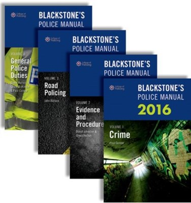 Blackstone's Police Manuals Glenn Hutton, John Watson, Gavin McKinnon, David Johnston, Paul Connor 9780198743460