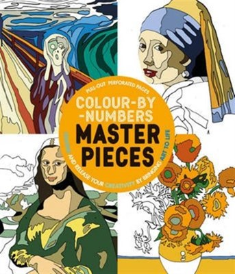 Colour-by-Numbers Masterpieces Parragon Books Ltd 9781474838320