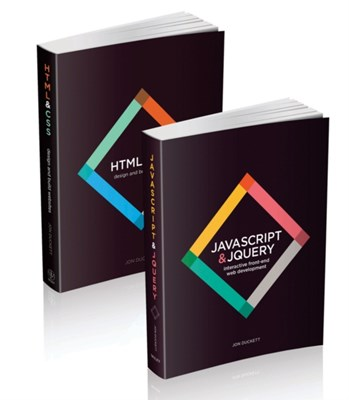 Web Design with HTML, CSS, JavaScript and jQuery Set Jon Duckett 9781118907443