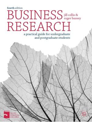 Business Research Roger Hussey, Jill Collis 9780230301832
