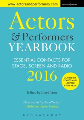 Actors and Performers Yearbook 2016  9781474239776