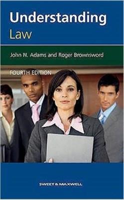 Understanding Law John N. Adams, Professor Roger Brownsword 9780421960602