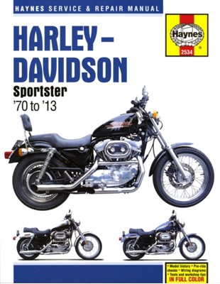 Harley-Davidson Sportster (70 - 13) John (University of Essex UK) Haynes, Alan Ahlstrand 9781620922262