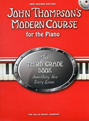 John Thompson's Modern Course Third Grade - Book/CD (2012 Edition)  9781849388863