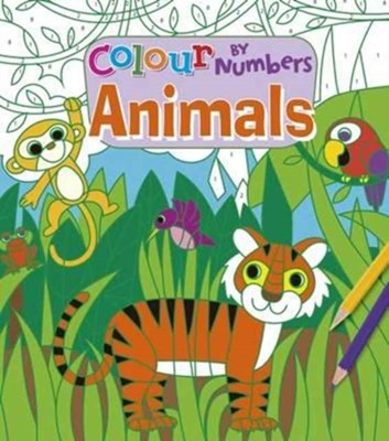 Colour by Numbers - Animals Arcturus Publishing 9781784285319