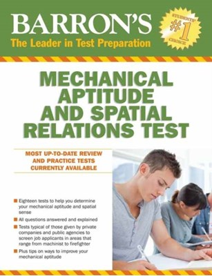 Barron's Mechanical Aptitude and Spatial Relations Test Joel Wiesen 9781438005706