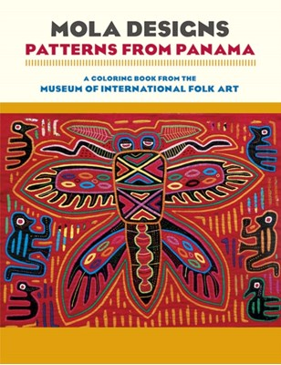 Mola Designs Patterns from Panama Coloring Book  Cb177  9780764975608