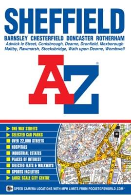 Sheffield Street Atlas  9781782570998