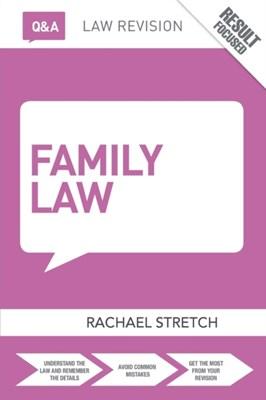 Q&A Family Law Rachael Stretch 9781138829589