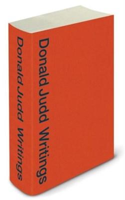 Donald Judd Writings Caitlin Murray, Flavin Judd 9781941701355