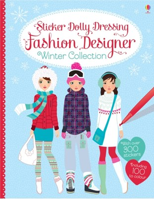 Sticker Dolly Dressing Fashion Designer Winter Collection Fiona Watt 9781409570561