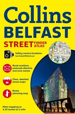 Collins Belfast Streetfinder Colour Atlas Collins Maps 9780008211554