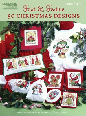 Fast & Festive 50 Christmas Designs Design Works Crafts 9781609001476
