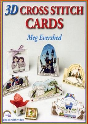 3D Cross Stitch Cards Meg Evershed 9781906314156