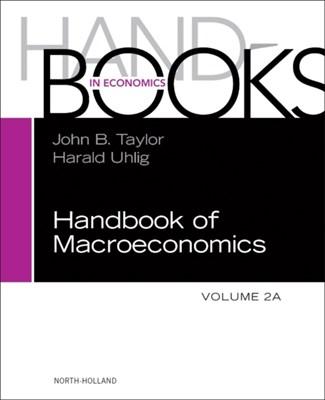 Handbook of Macroeconomics  9780444594693