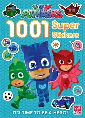 PJ Masks: 1001 Super Stickers Pat-a-Cake, PJ Masks 9781526380425