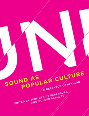 Sound as Popular Culture  9780262033909