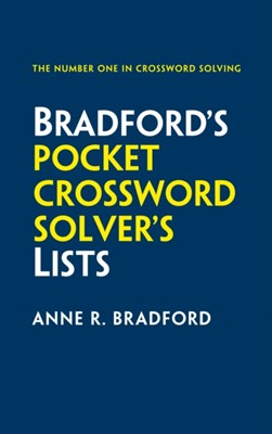 Bradford's Pocket Crossword Solver's Lists Anne R. Bradford, Collins Puzzles 9780008209124