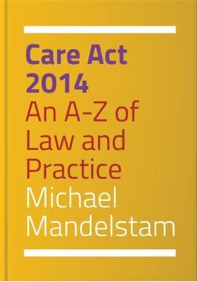 Care Act 2014 Michael Mandelstam 9781849055598
