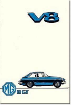MG MGB GT V8 Brooklands Books Ltd 9781869826710