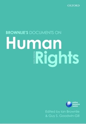 Brownlie's Documents on Human Rights  9780199564040