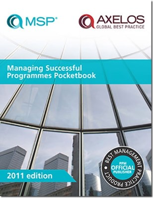 Managing successful programmes pocketbook [single copy] Great Britain: Cabinet Office 9780113313549