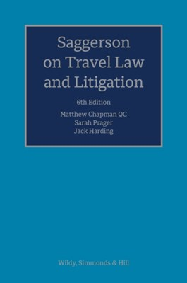Saggerson on Travel Law and Litigation Sarah Prager 9780854902194