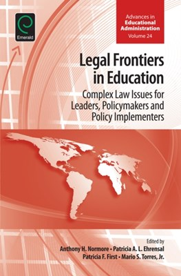 Legal Frontiers in Education  9781785605772