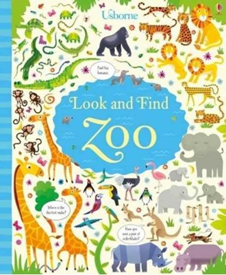 Look and Find Zoo Kirsteen Robson 9781474929028