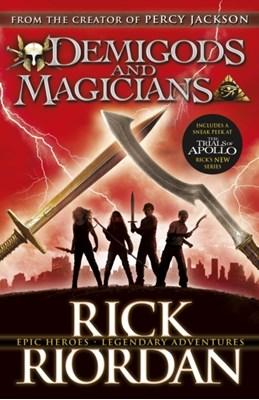 Demigods and Magicians Rick Riordan 9780141367286