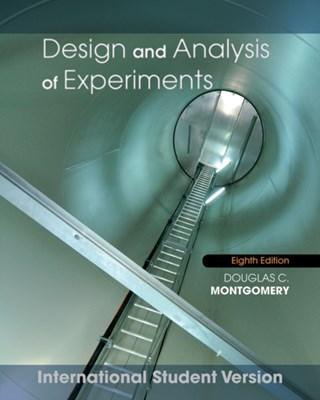 Design and Analysis of Experiments Douglas C. Montgomery 9781118097939