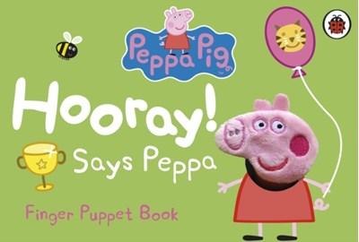 Peppa Pig: Hooray! Says Peppa Finger Puppet Book  9781409313298